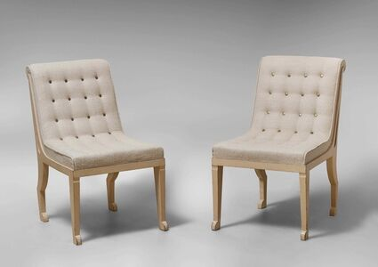 Pair of Egyptian Chairs