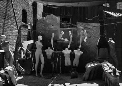Mannequins, Columbia Movie Lot, Los Angeles, California