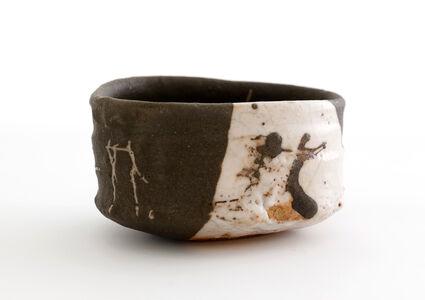 Tea bowl, Oribe style