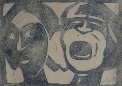 Grotesque Heads (Calm and Passion)