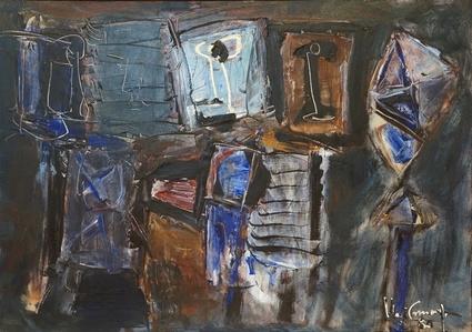 O pintor e o seu pátio
