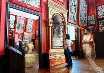 The Costume of Painter - Phantom of Museum Gm, J.L.David red shawl hn