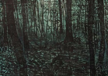 Estudo para floresta IV