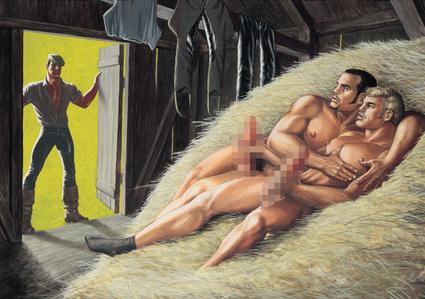 Untitled (Barn Scene)