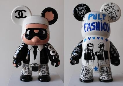 Qee Bear Karl - Pulp Fashion