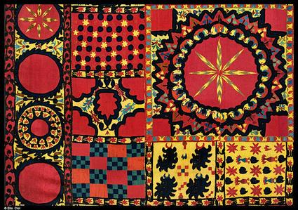 Ricordi Guardati -Uzbekistan. Tashkent. Tappeti museo di arti applicate.