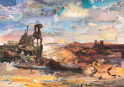 Painting with Rock Formations