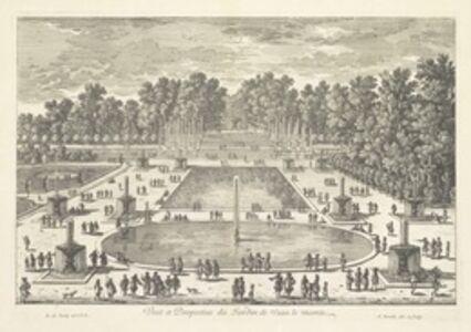 Veue et perspective du jardin de Veau le Viconte