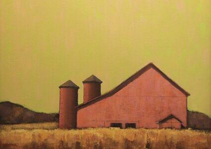 Red Barn at Dawn