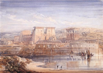 Philae: A View of the Temples From the South