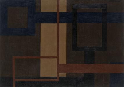 Bild mit Blauer Horizontale (Lobkowitzplatz)