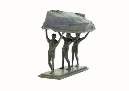 Burdened Man (maquette) I