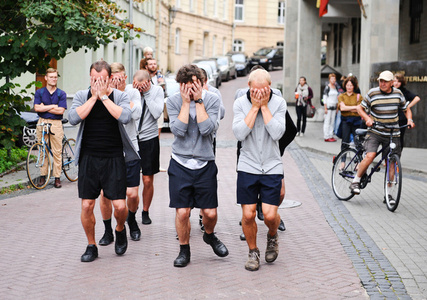 Choreography for the Running Male
