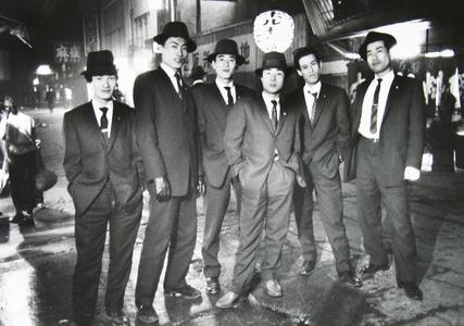 Gangsters, Osaka, Japan