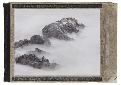Big Island Hawaii, Lava rocks and sea water