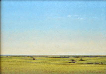 Late Afternoon North of Salina, Kansas