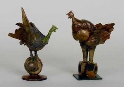 Turkeys--Salt and Pepper