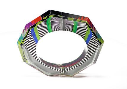Faceted Hinge Bracelet