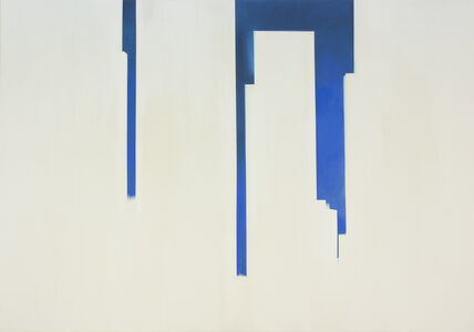 In Absentia (Deep Blue - White)