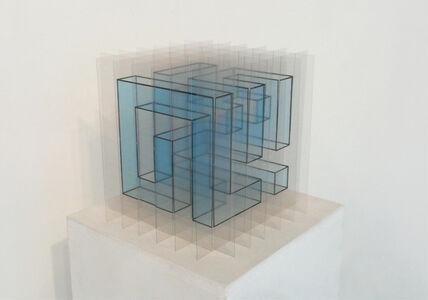 cubic snake I (blue)