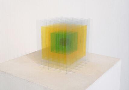 cube I  No2 (jaune & vert verre)