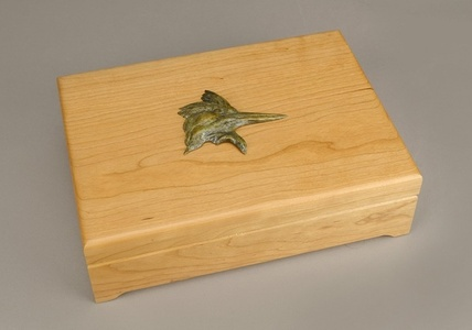 Kingfisher Treasure Box