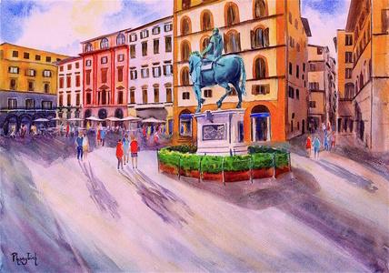 Piazza dell Signoria