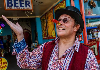 Scott, Coney Island Side Show