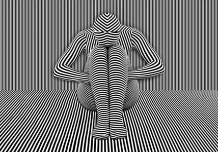 Stripes Study III