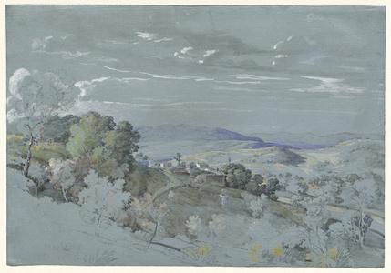 The Hills of Umbria near Perugia