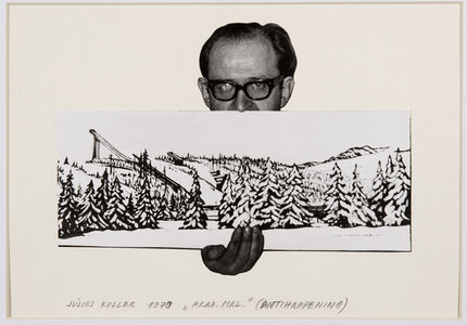 Untitled (Artist with Landscape)