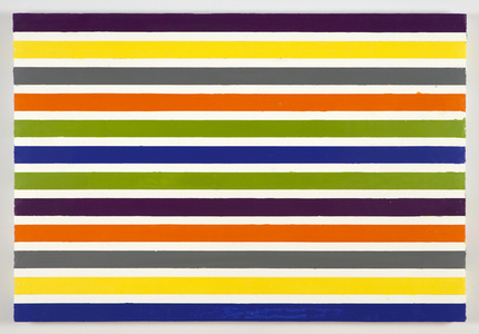 A Painting In Stripes