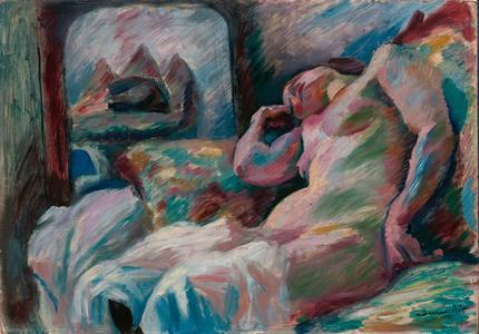 Weiblicher Akt (Nude)
