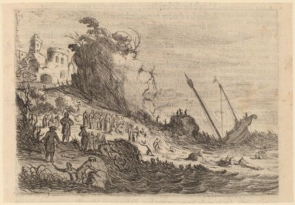 Saint Paul Shipwrecked on the Island of Malta