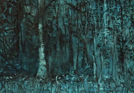 Estudo para floresta III
