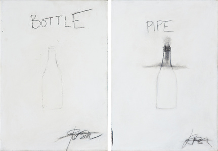 Untitled/Bottle and Pipe