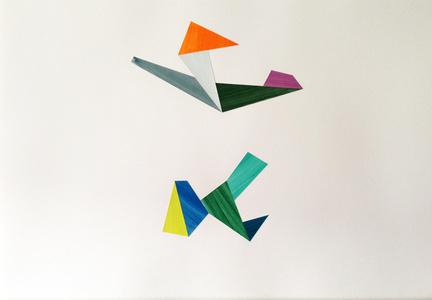 Untitled Collage (Birds & Spores) 10