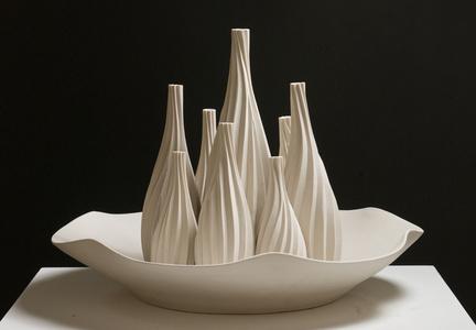 Vases in Bowl