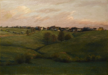 Jennertown, Pennsylvania, Spring Evening