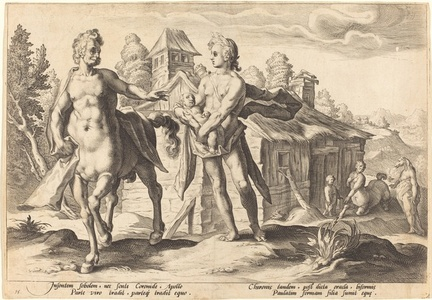 Apollo Entrusting Chirson with the Education of Aescalapius