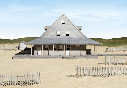 Caffey's Inlet Lifesaving Station (Dare County, NC)