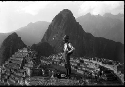 Self-portrait, Machu Picchu,