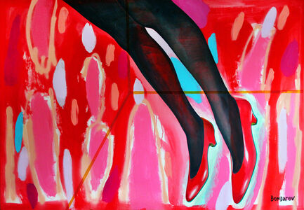"""Red Shoes in Red Jelly"""