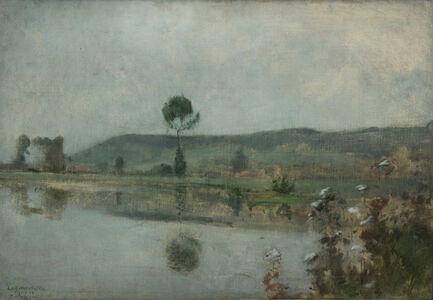 River under the Hills at Arques-la-Bataille