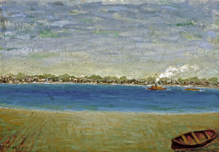 Untitled (Tugboat View)