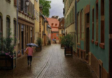 Old World Rainy Morning