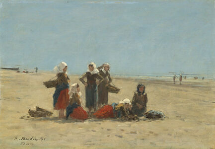 Women on the Beach at Berck