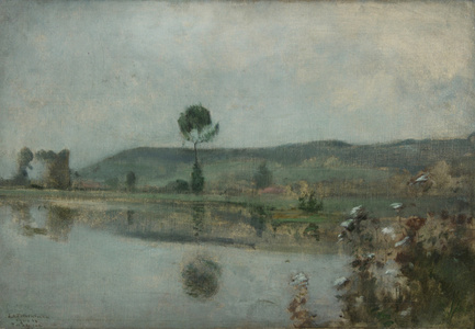 River under the Hills at Arques-la-Bataille