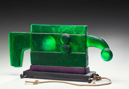 Green Dreamer Pull Toy