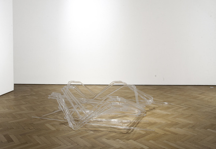 untitled (crowd control barriers)